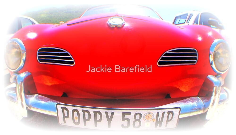 Karmann Ghia Front by Jackie Barefield