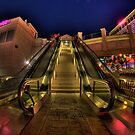 Escalator at Caesar's Palace: Las Vegas by toby snelgrove  IPA
