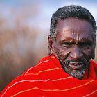 Afrikanischer Maasai-Ältester von DEC02