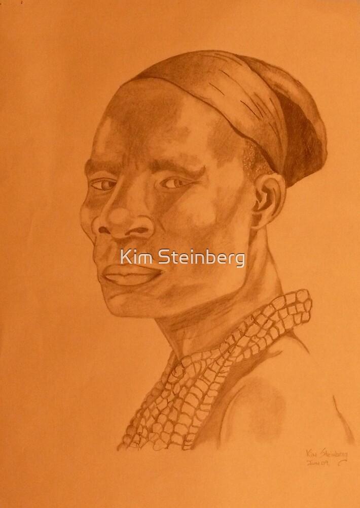 Tribal Warrior by Kim Steinberg
