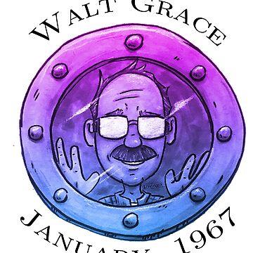 Walt Grace Colorized by EchoSoloArt