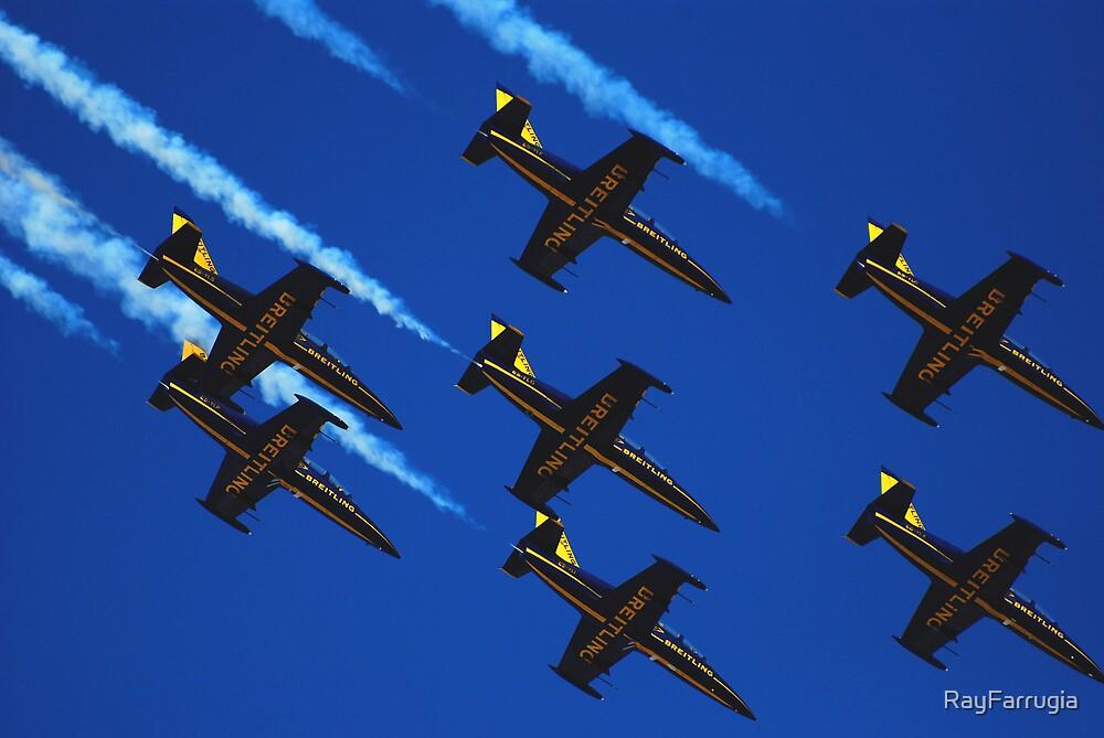 7 X AERO L-39 ALBATROS BREITLING JET TEAM ( FRANCE ) by RayFarrugia