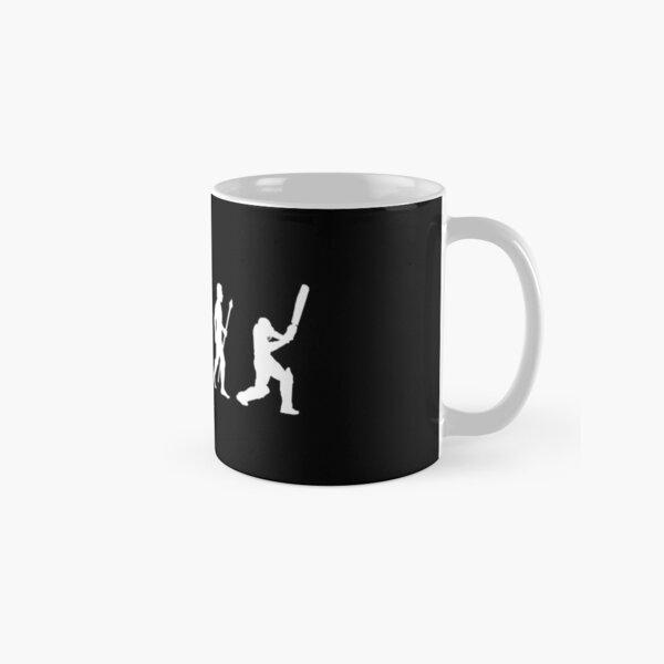 Cricket Evolution Of Man  Classic Mug