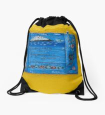 """Greek Colors"" Calendar 2015 - June Drawstring Bag"