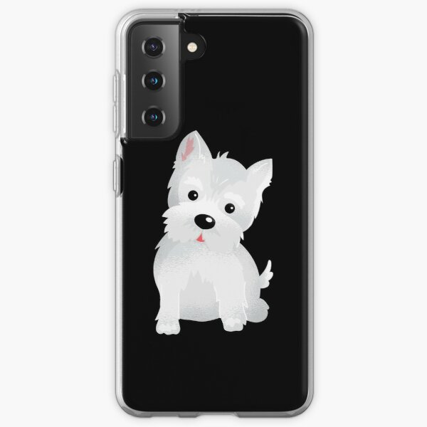 Westie dog Samsung Galaxy Soft Case