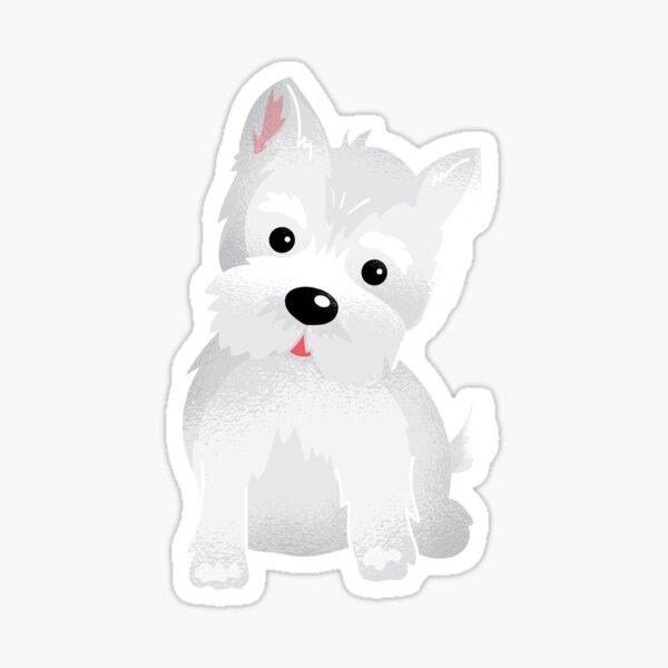 Westie dog Sticker