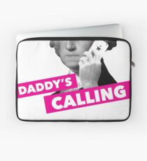 Hamilton - Daddy's Calling Laptop Sleeve