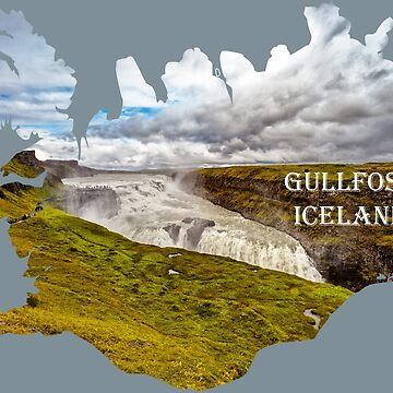 Souvenir of Gullfoss Waterfall, Iceland by dianecmcac