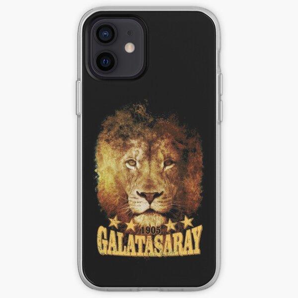 Galatasaray Lion 1905 4 étoiles T Shirt Coque souple iPhone