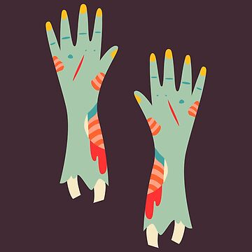Zombie Hands by musingtree