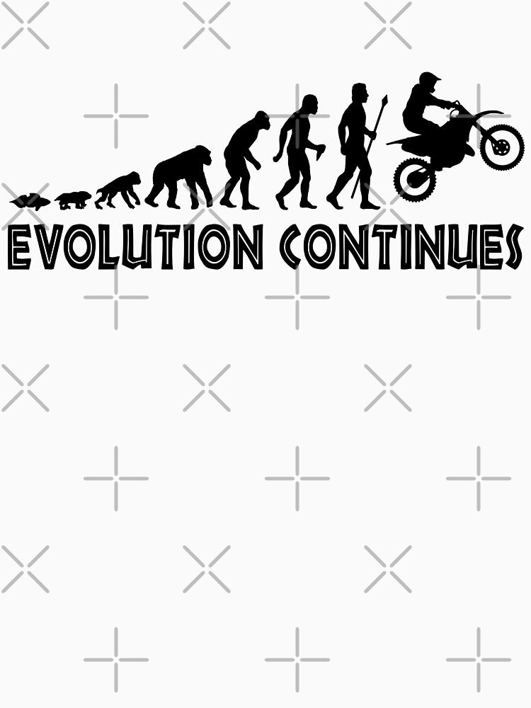 Lustige Trail Bike Evolution setzt Silhouette fort von BeyondEvolved