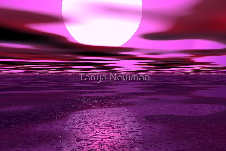 Deep Pink by Tanya Newman