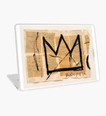Basquiat Crown Laptop Skin
