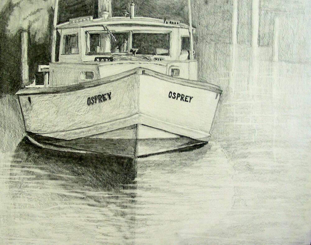Osprey Crab Workboat by Phyllis Dixon