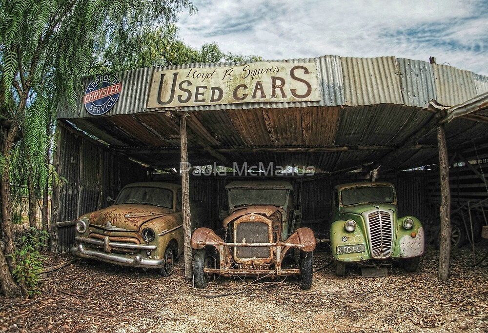 Very Used Cars by Paula McManus
