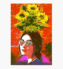 The Girl with Kaleidoscope Eyes Photographic Print