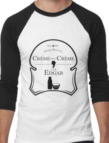 Crème de la Crème a la Edgar V.2 Men's Baseball ¾ T-Shirt