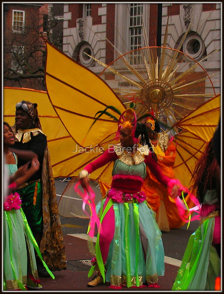 New Years Day Parade 09, London by Jackie Barefield