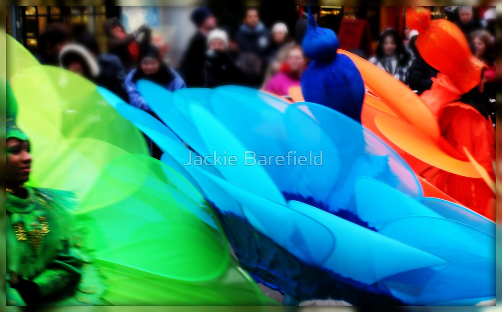 New Years Day Parade, 09 London by Jackie Barefield