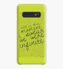 We Were Infinite - Quotes - Green Case/Skin for Samsung Galaxy