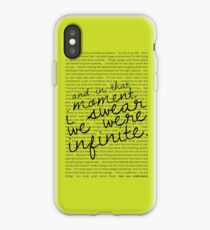 We Were Infinite - Quotes - Green iPhone Case