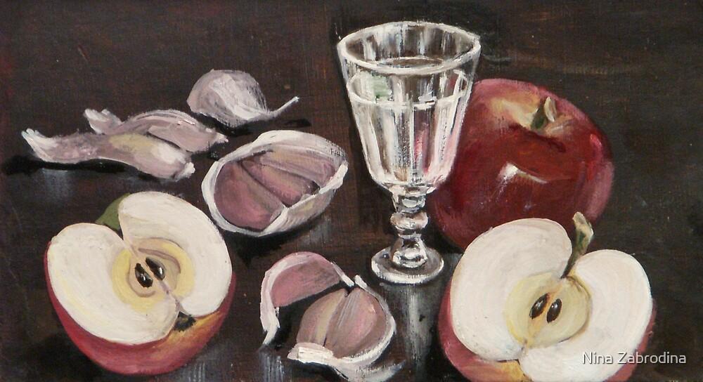 garlic by Nina Zabrodina