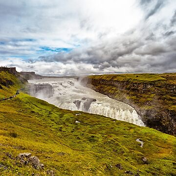 Gullfoss Waterfall in the Golden Circle by dianecmcac