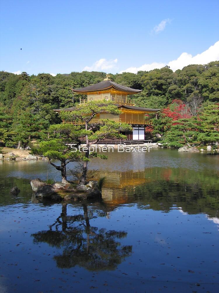 Golden Pavillion Kyoto by Stephen Baxter