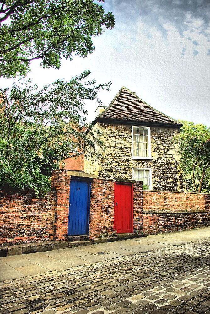 BLUE DOOR RED DOOR by j.p. Howley