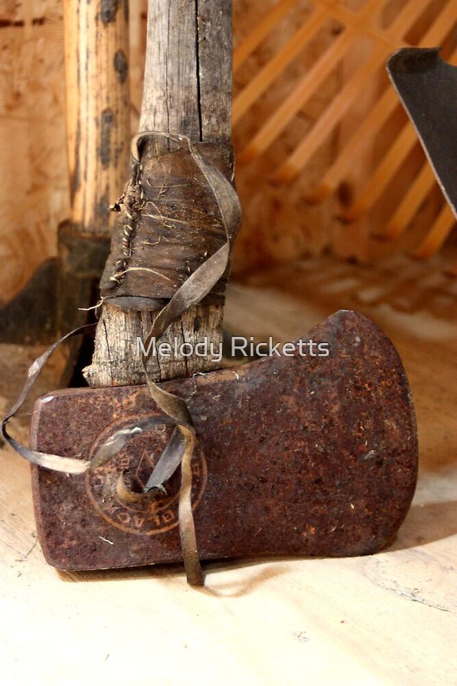 Rusty Axe by Melody Ricketts