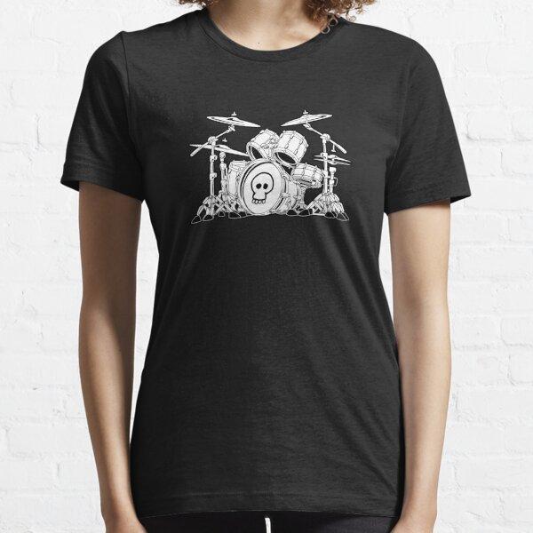 Drum Set Cartoon Essential T-Shirt