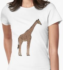 Thorncrofts Giraffe Tailliertes T-Shirt