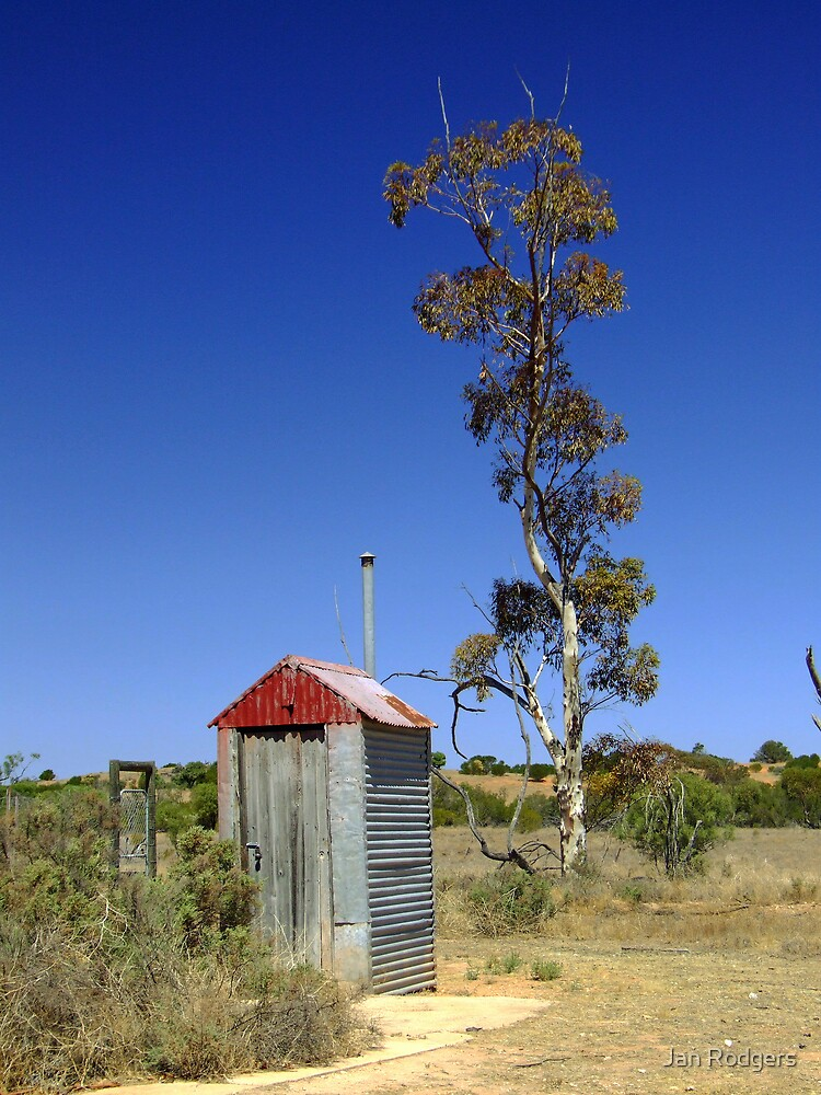 The Iconic Aussie Outhouse by Janette Rodgers