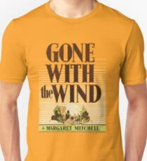 Gone With The Wind Margaret Mitchell First Edition Cover Unisex T-Shirt