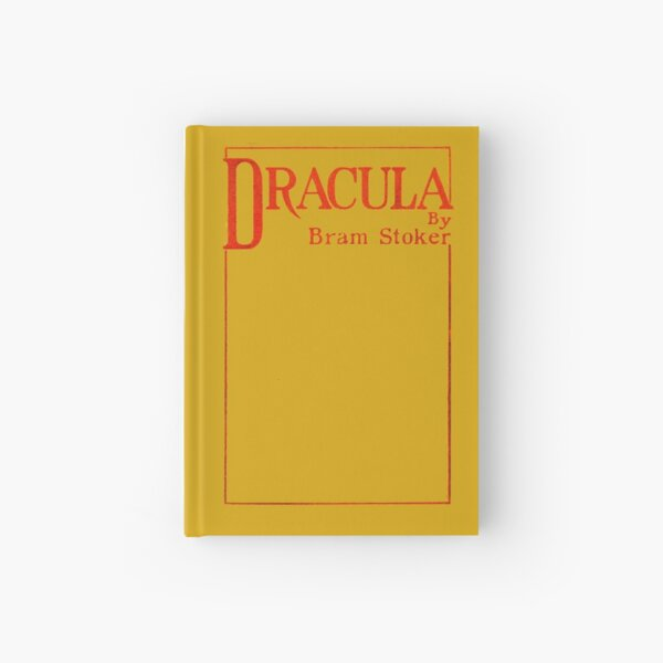 Dracula Bram Stoker First Edition Book Cover Hardcover Journal