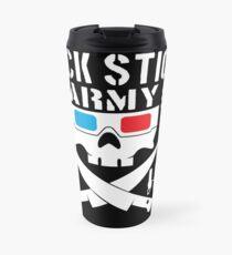 FUCK STICK ARMY ( WE WATCHED A MOVIE ) Travel Mug