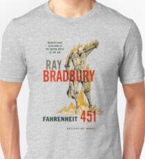 Fahrenheit 451 Ray Bradbury First Edition Book Cover Unisex T-Shirt