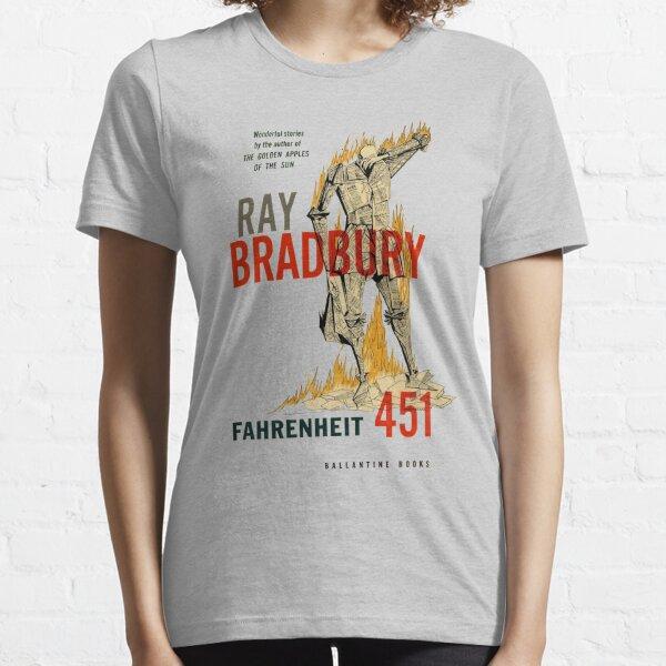 Fahrenheit 451 Ray Bradbury First Edition Book Cover Essential T-Shirt