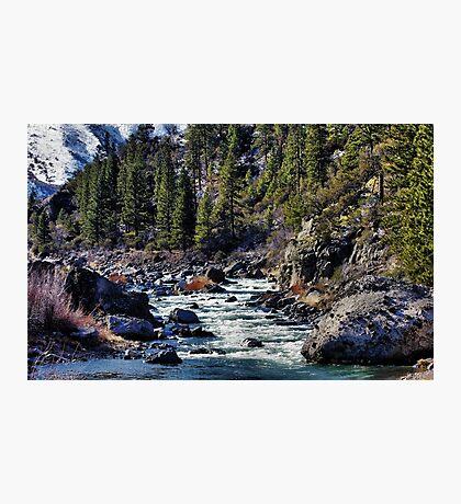 Truckee River Photographic Print