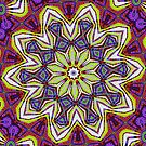 Floral Kaleidoscope by Cheveta