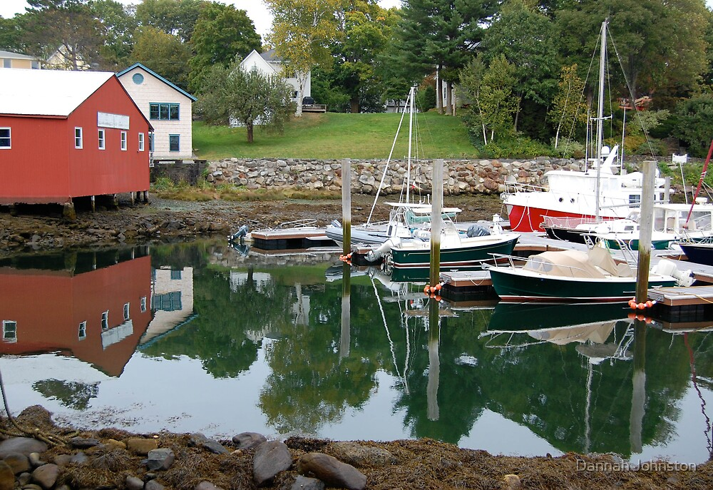 Reflections of Maine by Dannah Johnston