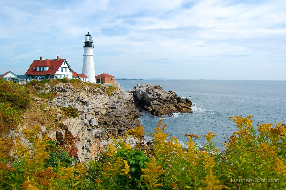 Portland Lighthouse by Dannah Johnston