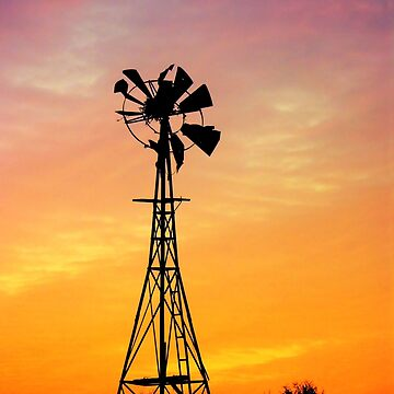 Summer Windmill by PaulaMcManus