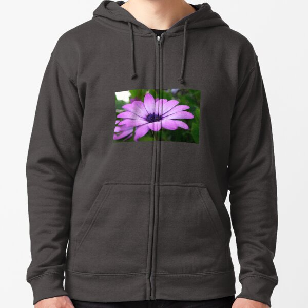 Purple Zipped Hoodie