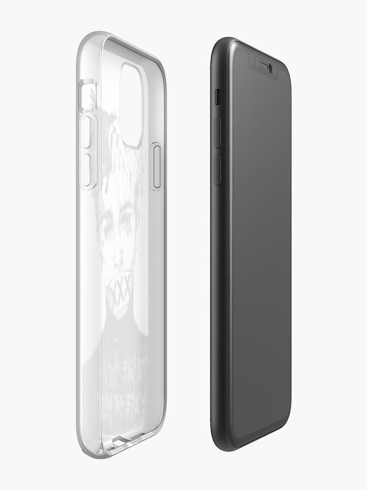 Coque iPhone «La baise», par Simpsonjohn
