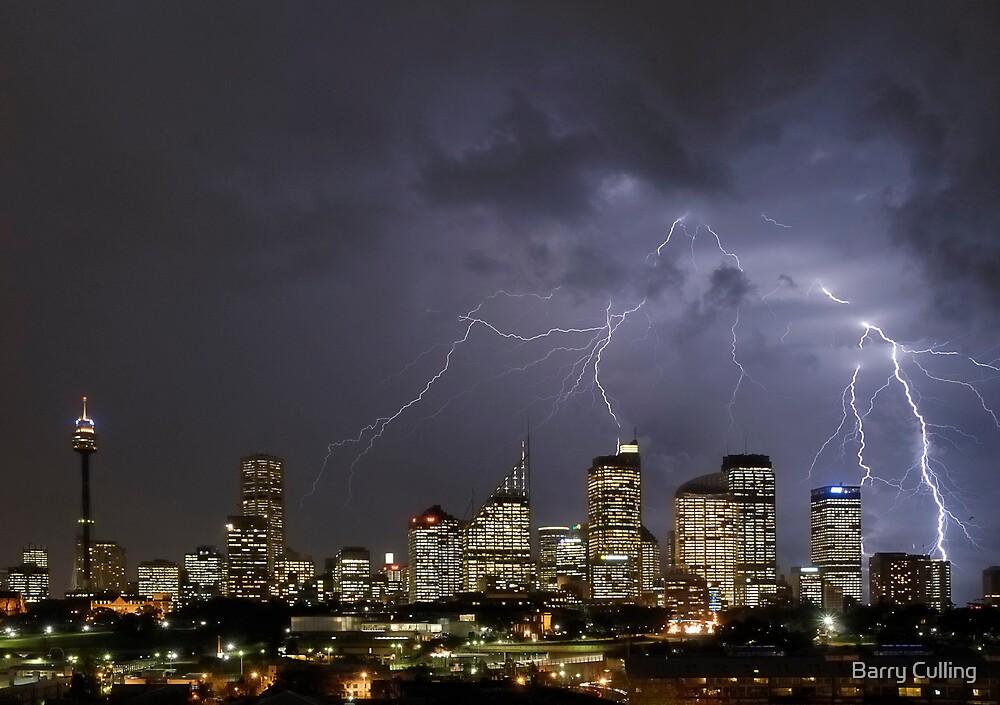 Sydney Lightning by Barry Culling