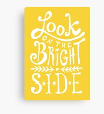 Look On The Bright Side Canvas Print