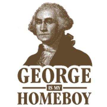George is my homeboy  by joshuanaaa