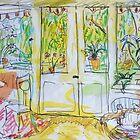 Alex's Wohnzimmer by John Douglas