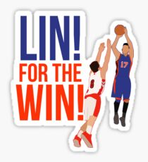 Jeremy Lin - Lin For the Win Sticker